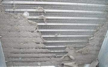 Dirty-evaporator-coil
