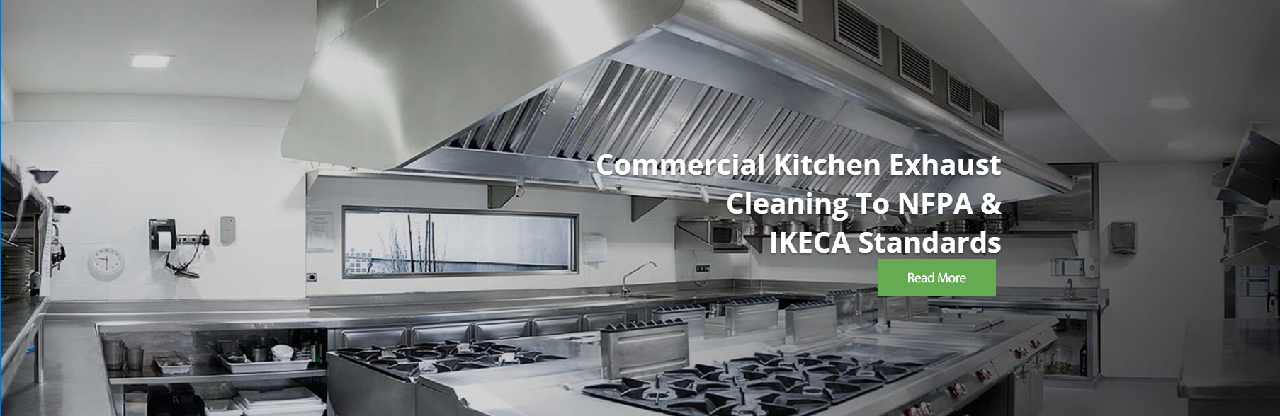 commercial kitchen exhaust cleaning to NFPA & IKECA standards